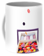 Colorful Buttons Fall Into A Sewing Box Coffee Mug