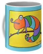 Colorful Chameleon Coffee Mug