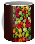 Colorful Chili Pepper Coffee Mug