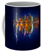 Colorful City Reflection 17 06 2015 Coffee Mug