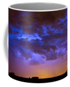 Colorful Cloud To Cloud Lightning Coffee Mug