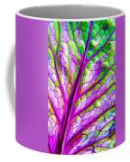 Colorful Coleus Abstract 1 Coffee Mug
