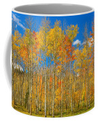 Colorful Colorado Autumn Landscape Coffee Mug