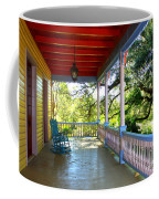Colorful Creole Porch Coffee Mug by Carol Groenen