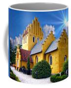 Colorful Danish Church Coffee Mug