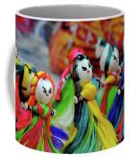 Colorful Dolls Coffee Mug