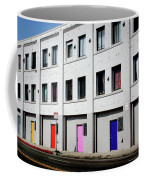 Colorful Doors- By Linda Woods Coffee Mug