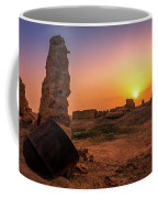 Colorful Evening In The Ruined World.. Coffee Mug