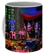 Colorful Evening Shadows Coffee Mug