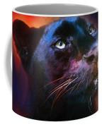 Colorful Expressions Black Leopard Coffee Mug