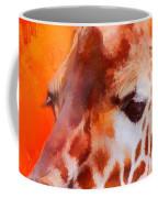 Colorful Expressions Giraffe Coffee Mug