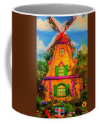 Colorful Fantasy Windmill Coffee Mug