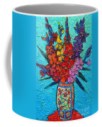 Colorful Gladiolus Coffee Mug