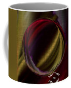 Colorful Glass Marble Art  Coffee Mug