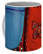 Colorful Hanging Pouches Coffee Mug