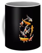 Colorful Japanese Koi Vertical Coffee Mug