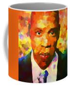Colorful Jay Z Palette Knife Coffee Mug