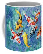 Colorful Koi Coffee Mug