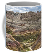 Colorful Layered Mountains  Coffee Mug