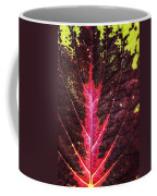 Colorful Leaf By Mother Nature Coffee Mug