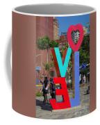 Colorful Love Sign In Kaohsiung Coffee Mug