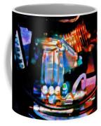 Colorful Machine In Blue And Purple Coffee Mug