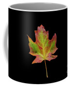 Colorful Maple Leaf Coffee Mug