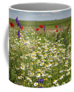 Colorful Meadow With Wild Flowers Coffee Mug