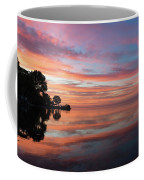 Colorful Morning Mirror - Spectacular Sky Reflections At Dawn Coffee Mug
