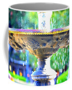Colorful New Orleans Fountain Coffee Mug