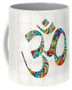 Colorful Om Symbol - Sharon Cummings Coffee Mug
