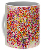 Colorful Organza Coffee Mug