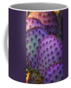 Colorful Rainbow Of Cactus Pads  Coffee Mug