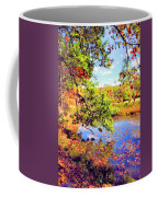 Colorful Reflections Coffee Mug by Kristin Elmquist