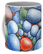 Colorful Rock Abstract Coffee Mug
