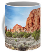 Colorful Rock Formations In Kodachrome Basin State Park, Utah Coffee Mug