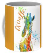 Colorful Safari Animals D Coffee Mug