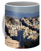 Colorful San Francisco Coffee Mug