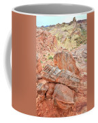 Colorful Sandstone In Wash 3 - Valley Of Fire Coffee Mug