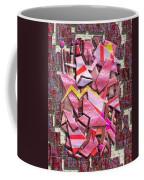 Colorful Scrap Metal Coffee Mug