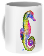 Colorful Seahorse Coffee Mug