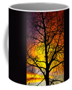 Colorful Silhouette Coffee Mug