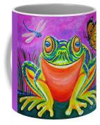 Colorful Smiling Frog-voodoo Frog Coffee Mug