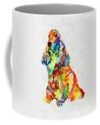 Colorful Spaniel Coffee Mug