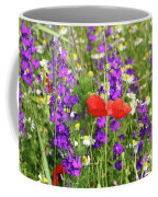 Colorful Spring Wild Flowers Coffee Mug