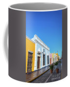 Colorful Street In Campeche, Mexico Coffee Mug