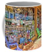 Colorful Streets Of The City Of Stuart Coffee Mug