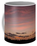 Colorful Sunset Over The Wetlands Coffee Mug