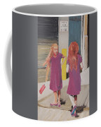 Colorful Twins Coffee Mug