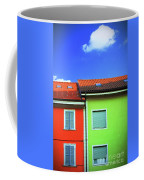 Colorful Walls And A Cloud Coffee Mug